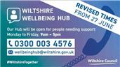 New Opening Hours - Wiltshire Wellbeing Hub